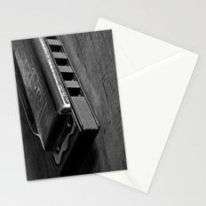 Black, White, & the Blues Stationery Cards