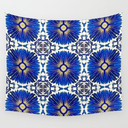 Azulejos - Portuguese Tiles Wall Tapestry
