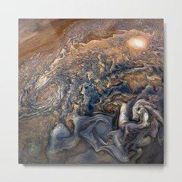 Jupiter's Clouds Metal Print