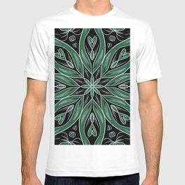 Christmas mandala pattern T-shirt