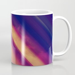Vibrant Colorful Rays between Clouds 15 Coffee Mug