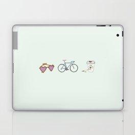 Lunettes Vélo Café  Laptop & iPad Skin