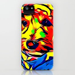 Havapoo Color Splash Art iPhone Case