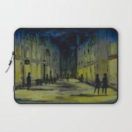 Evening shopping on Pride Hill Shrewsbury - UK Laptop Sleeve