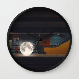 Day Off #1 Wall Clock