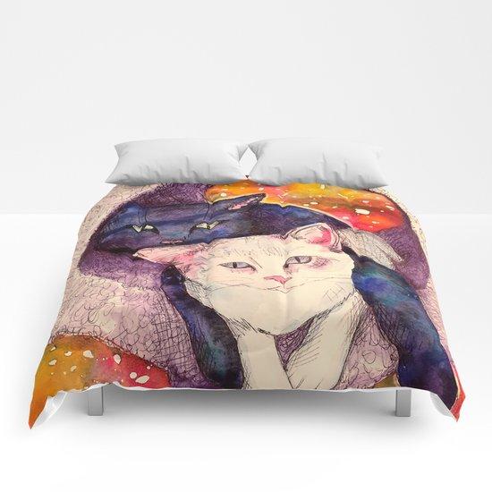 nick & zelda Comforters