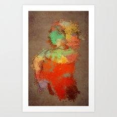 Shapaint Art Print