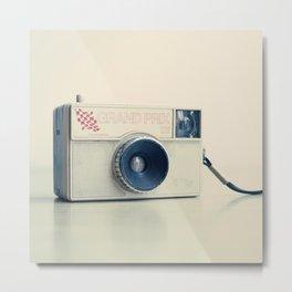Film Camera Grand Prix 126 Metal Print