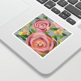 Platinum Rose Sticker