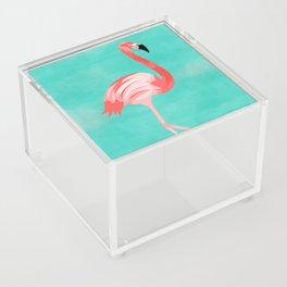 Flamingo Bird Acrylic Box