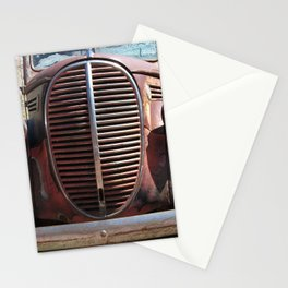 Truck Grill, Old Truck, Old Truck Grill Stationery Cards