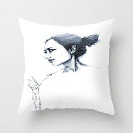 re;5 Throw Pillow