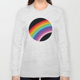 Circular Rainbow Long Sleeve T-shirt