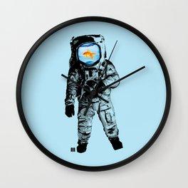 Goldfish Astronaut Wall Clock