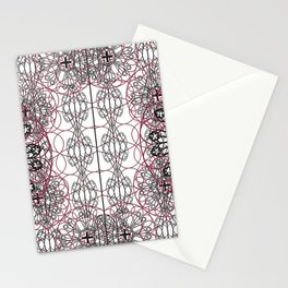 Gothic ornamental architectural Stationery Cards