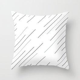 Clear start Throw Pillow
