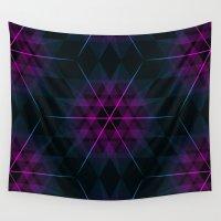 geode Wall Tapestries featuring Geode by Matt Borchert
