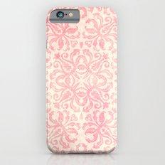 Shabby Arabesque Pattern Slim Case iPhone 6s