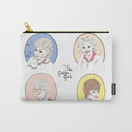 I Heart the Golden Girls Print Carry-All Pouch