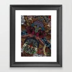 Psychedelic Botanical 14 Framed Art Print