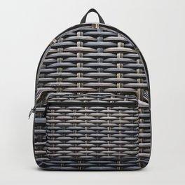 Basketwork Backpack