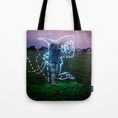Devil Shark W/JMR1 Tote Bag