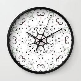light and airy by Leslie harlow Wall Clock