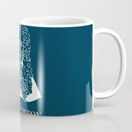 Illustration of Isaac Newton Coffee Mug