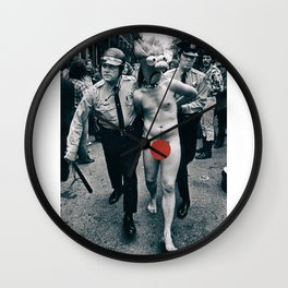 Riot Beaker Wall Clock