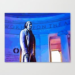 Jefferson Memorial III Canvas Print
