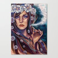 looking for alaska Canvas Prints featuring Looking for Alaska by Loorae
