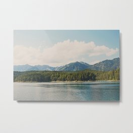 in the shadow of the Alps Garmisch photograph Metal Print