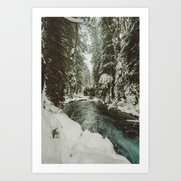 Adventure Awaits River II - Pacific Northwest Nature Photography Art Print