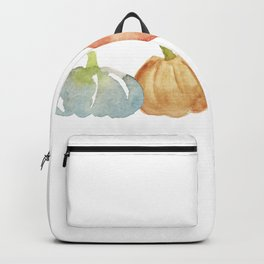 Watercolor Pumpkins Backpack