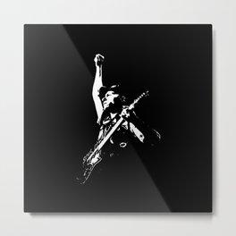 Guitar Legend Metal Print