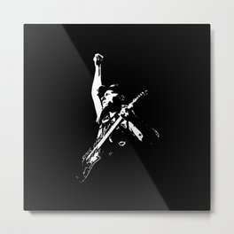 Guitar Legend Metal Print