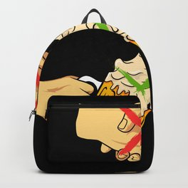 No Handshake Just Beer Party Alcohol Backpack