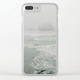Sutro Baths in the Fog Clear iPhone Case