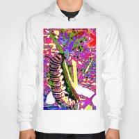 matisse Hoodies featuring Matisse Caterpillar by Ellen Turner