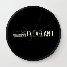 Black Flag: Cleveland Wall Clock