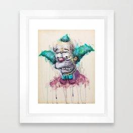 Krusty Framed Art Print