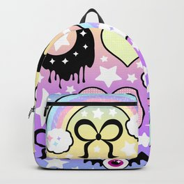 Pastel Goth Collage Backpack