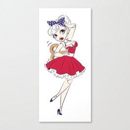Dancing Doll Canvas Print