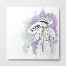 Suffragette Metal Print