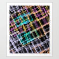 Square Deal Art Print