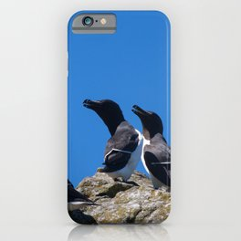 Ninjas in feathers iPhone Case