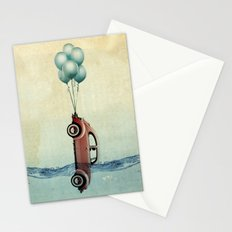head above water Stationery Cards