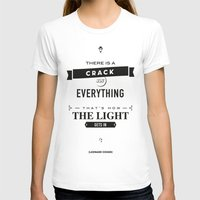 motivational T-shirts featuring Leonard Cohen, Motivational Quote by Spyros Athanassopoulos