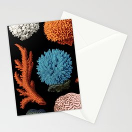 CORAL REEF COLLAGE Stationery Cards
