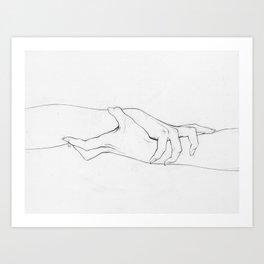 Untitled Hands No. 3 Art Print